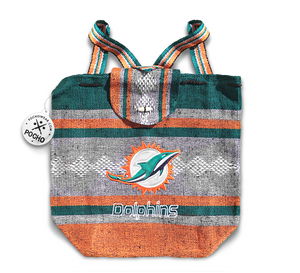 Miami Dolphins Backpack - Reusable Goodie Bag