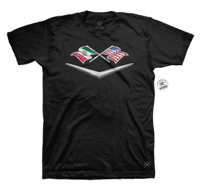 Dual Flag Badge Tee