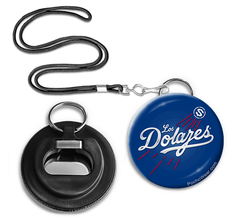Los Dolares Button Pin Bottle opener