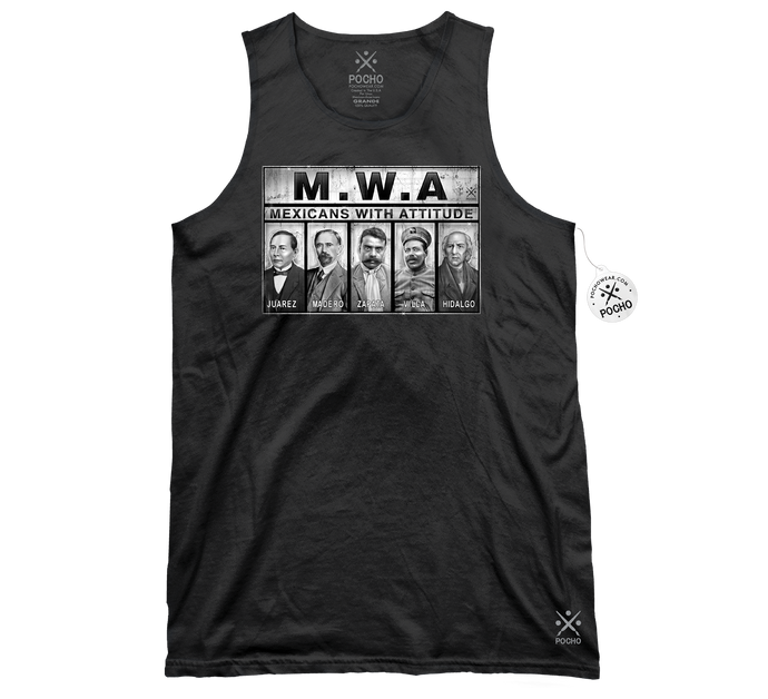 MWA Mexicans With Attitude - Tank Top
