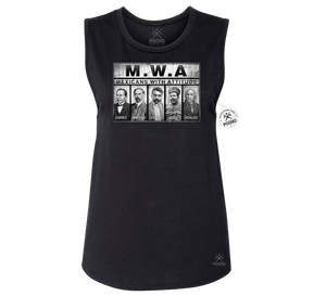 MWA Mexicans With Attitude - Womens Muscle Tank