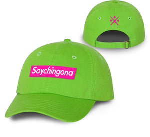 Soy Chingona NEON Dad hat