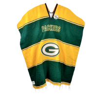 Green Bay Packers Gaban - Blanket - Poncho - Sarape - Pancho
