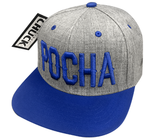 "Pocha ""Blue Blocks"" Hat"
