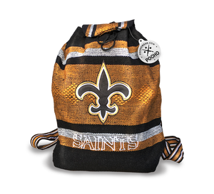 New Orleans Saints Backpack - Reusable Goodie Bag
