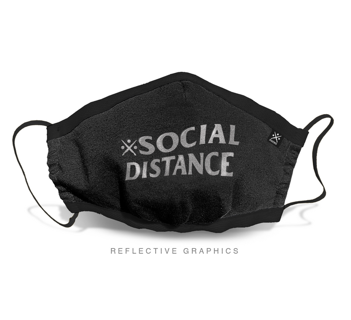 SOCIAL DISTANCE Full Face Mask