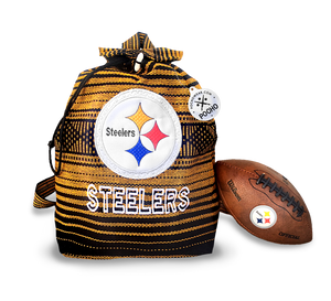 Steelers Backpack - Reusable Goodie Bag