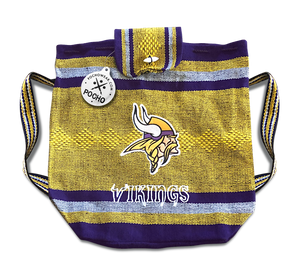 Minnesota Vikings Backpack - Reusable Goodie Bag