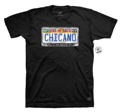 Chicano Identity Blinged out Tee