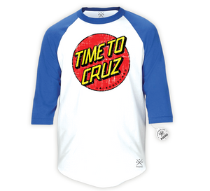 Time To Cruz 3/4 Raglan Tee