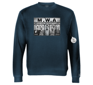MWA Mexicans With Attitude - Crewneck Sweatshirt
