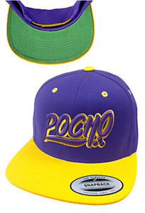 "Pocho ""Mi Vida Loca"" purple Gold Hat"