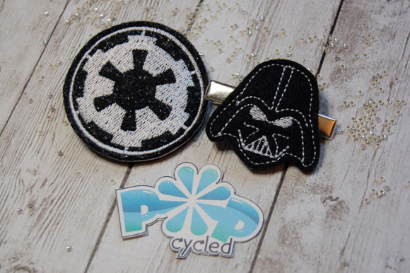 Darkside Master Hairclip Set