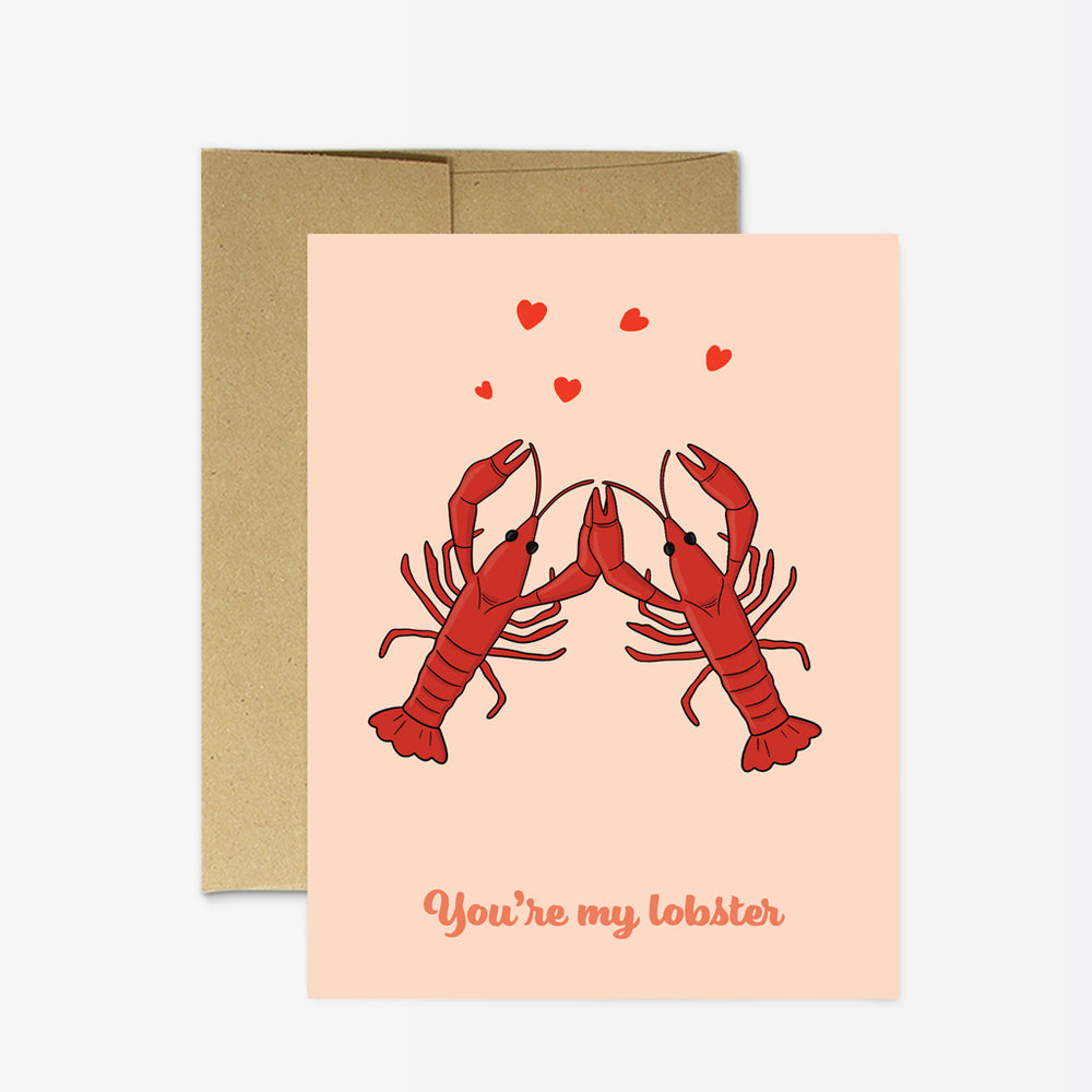 Valentine's Day Card | You're My Lobster