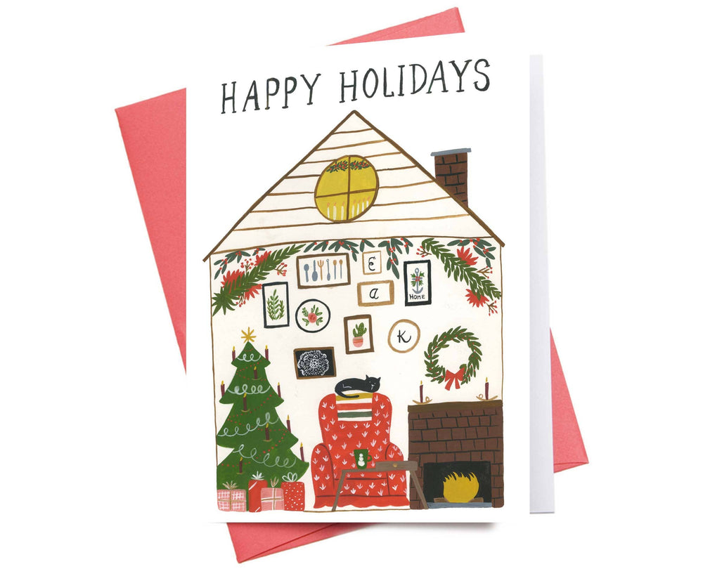 Holiday Card | Happy Holidays Home
