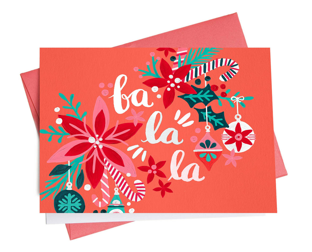 Holiday Card | Fa La La