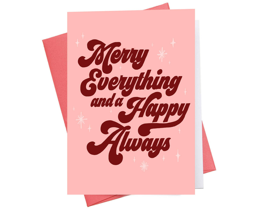 Holiday Card | Merry Everything