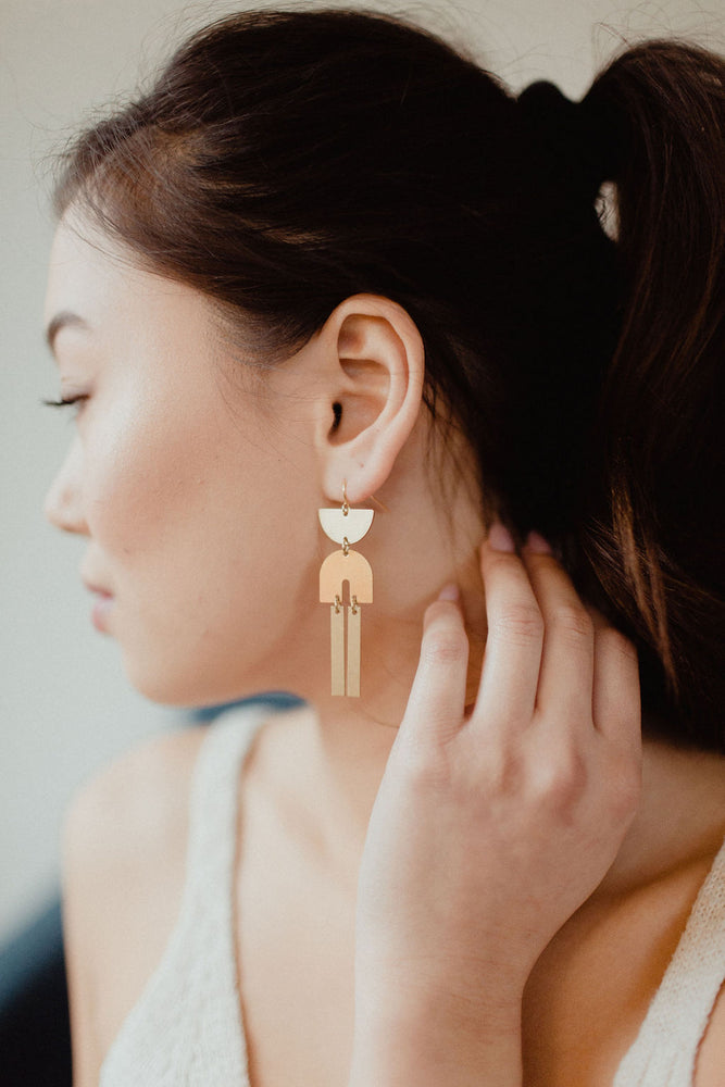 Brass Earrings | No. 15