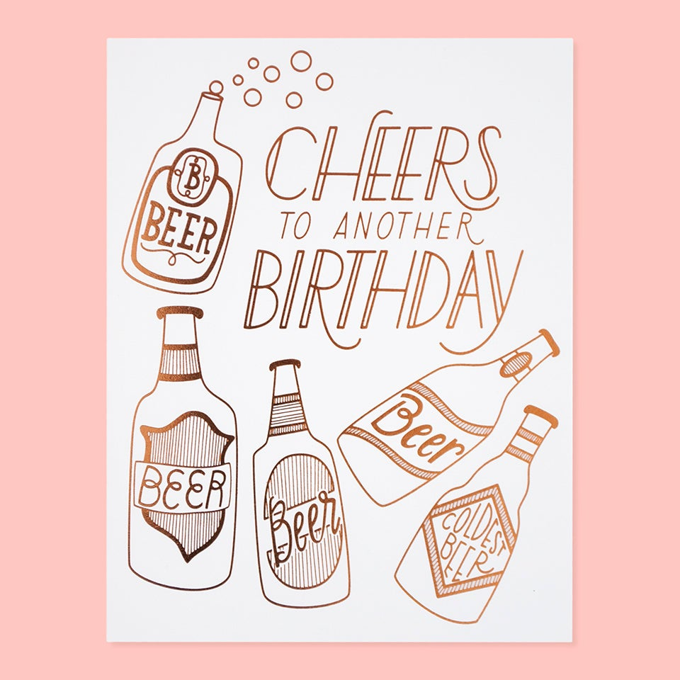 Birthday Card | Cheers
