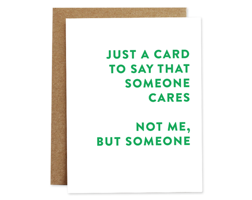 Encouragement Card | Someone Cares