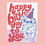 Birthday Card | Pug Birthday