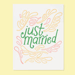 Wedding Card | Just Married