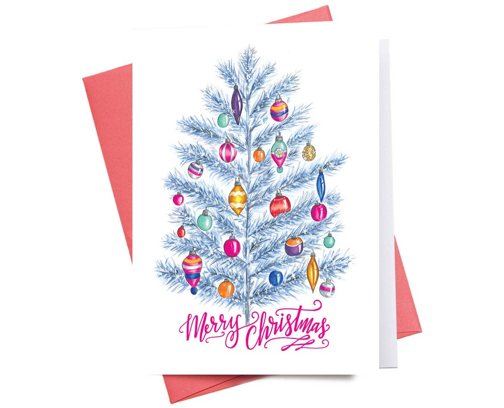 Holiday Card | Silver Tree