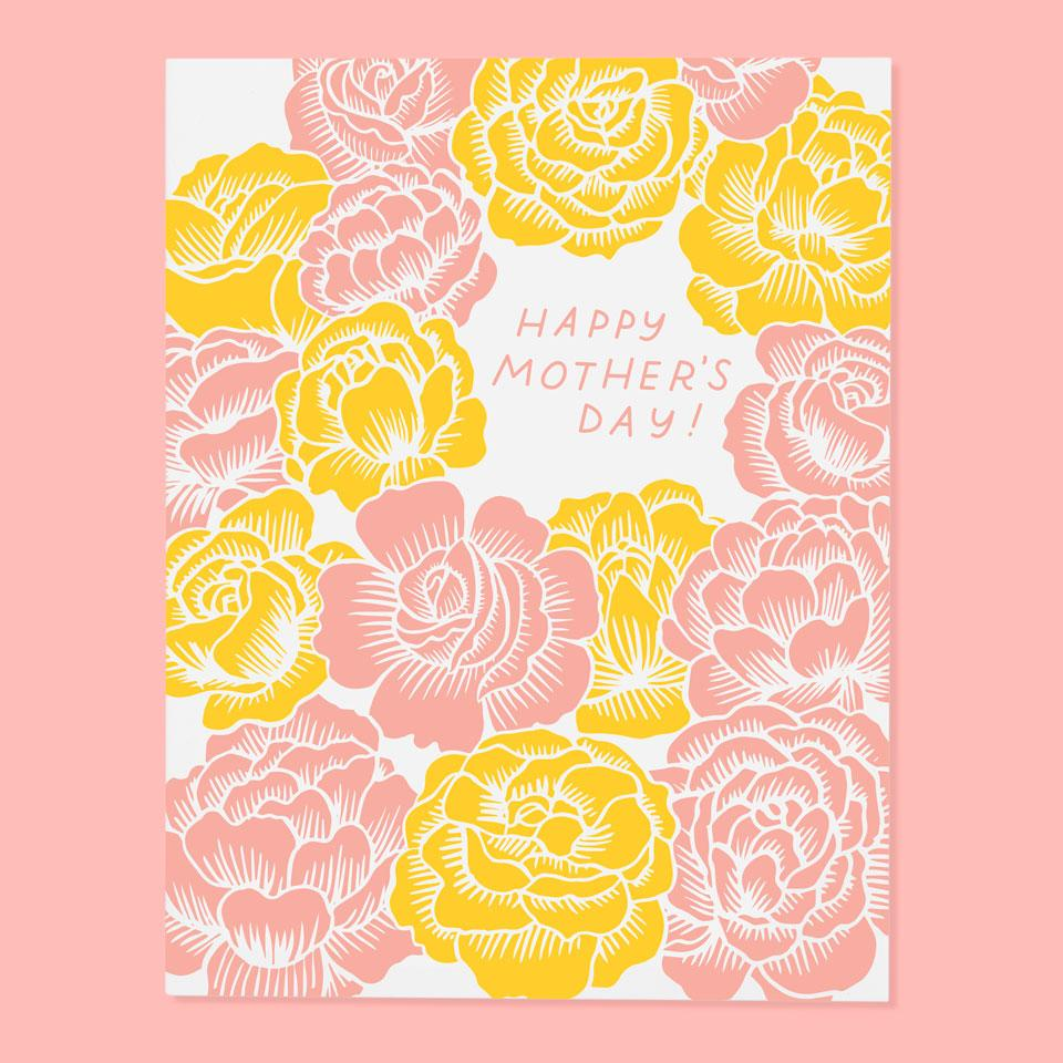 Mother's Day Card | Roses