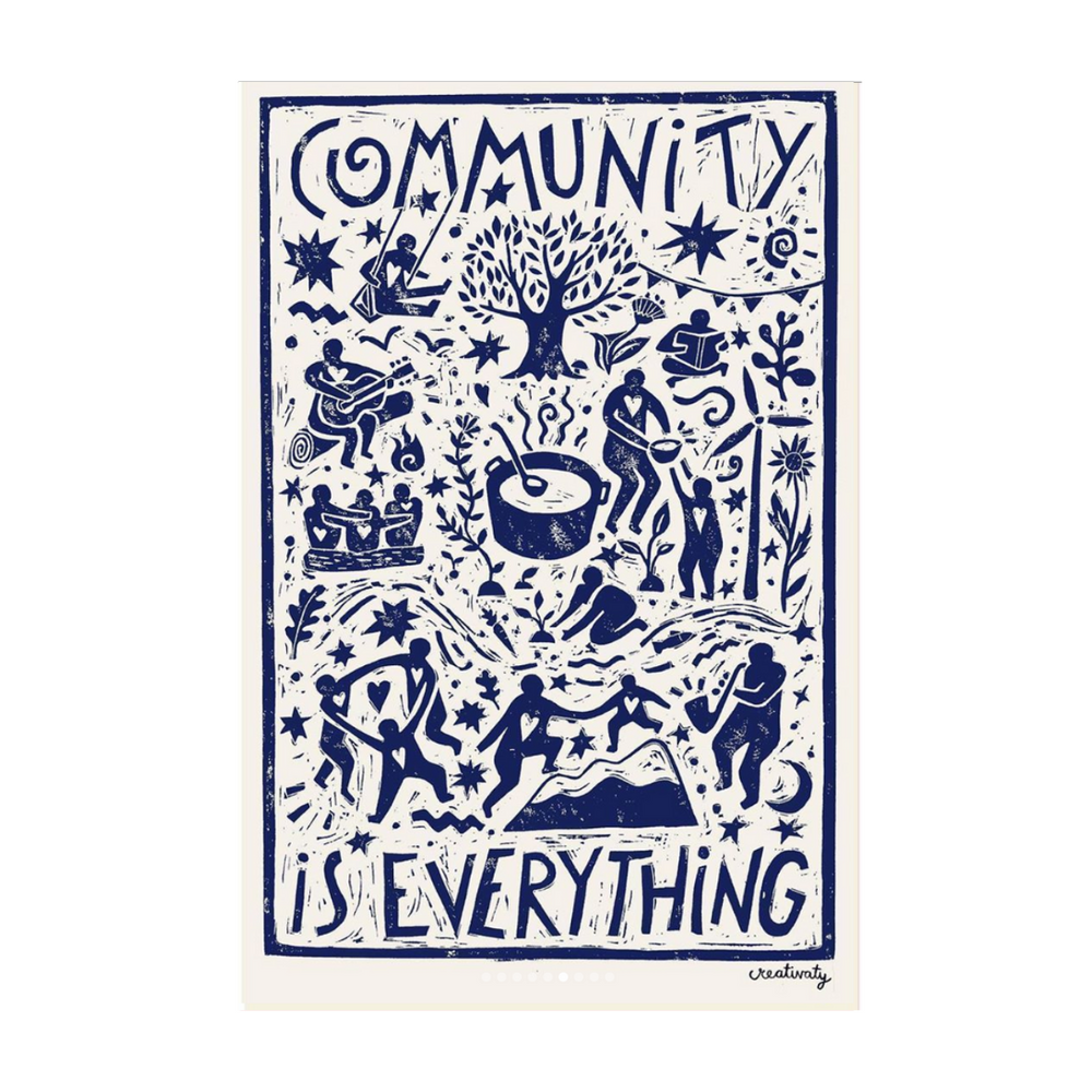 Poster | Community is Everything