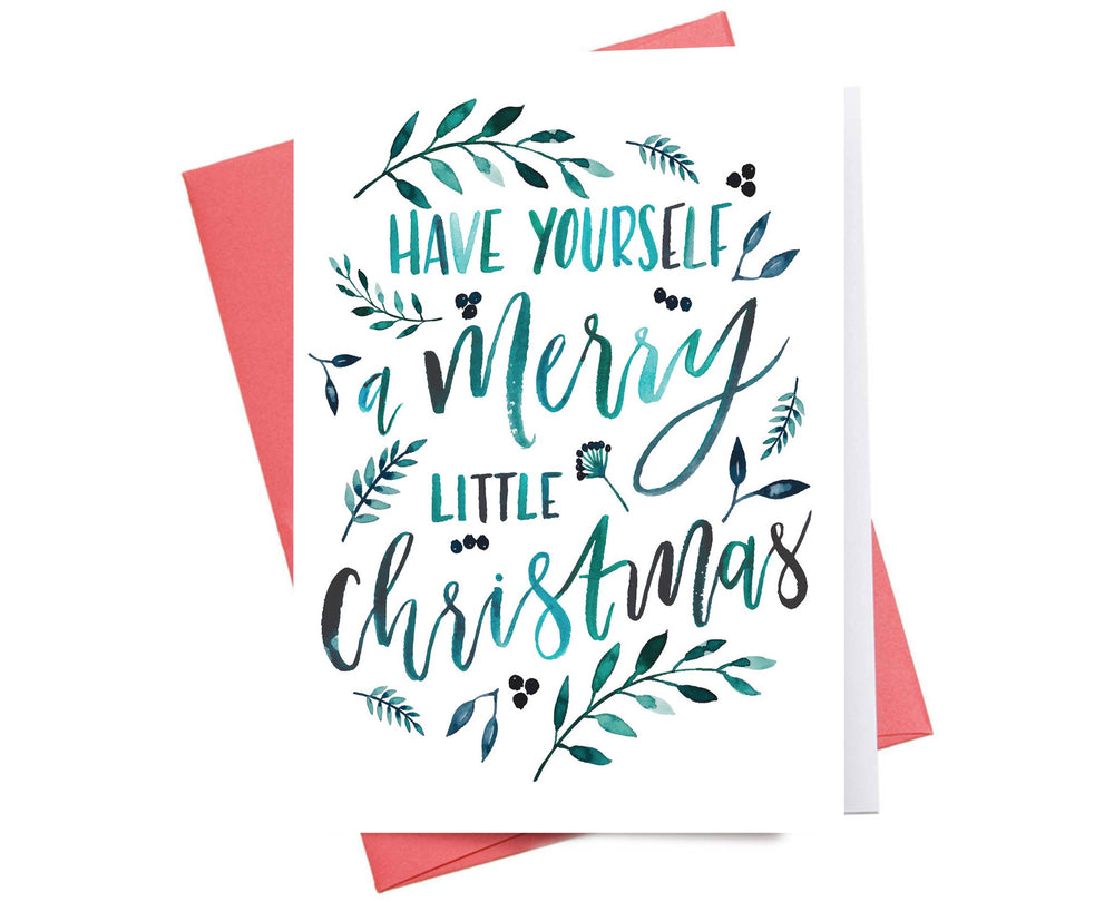 Holiday Card | Merry Little Christmas