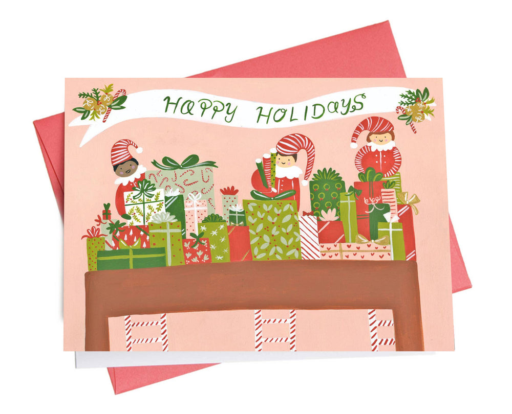 Holiday Card | Elves
