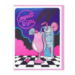 Congratulations Card | Congrats To You Cocktails