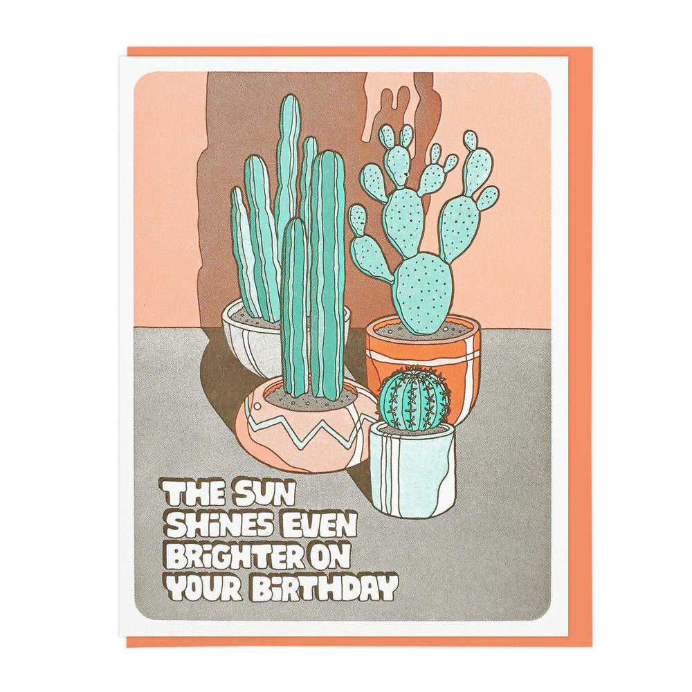 Birthday Card | Sun Shines Brighter