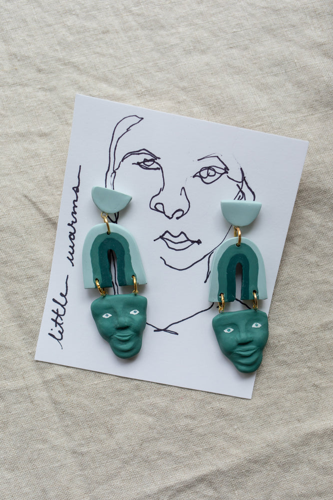Earrings | Rainbow Faced