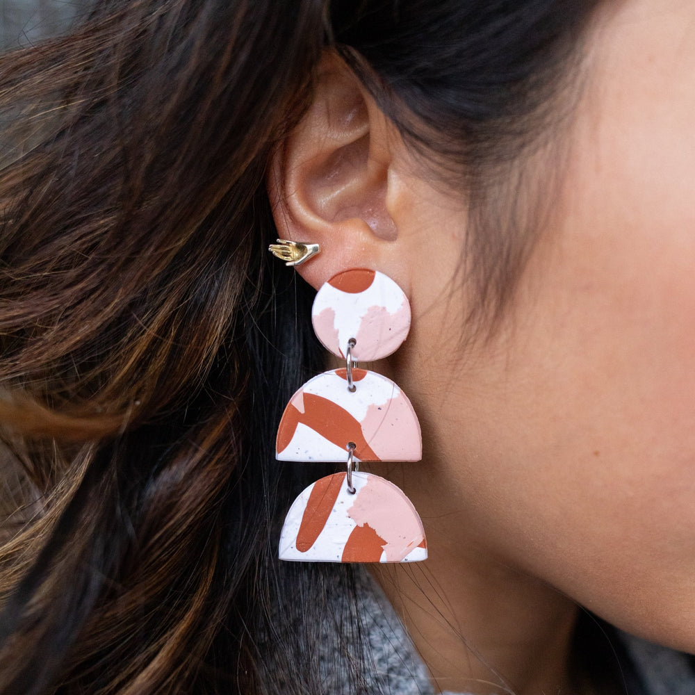 Earrings | Chesapeake Tiered Dangles
