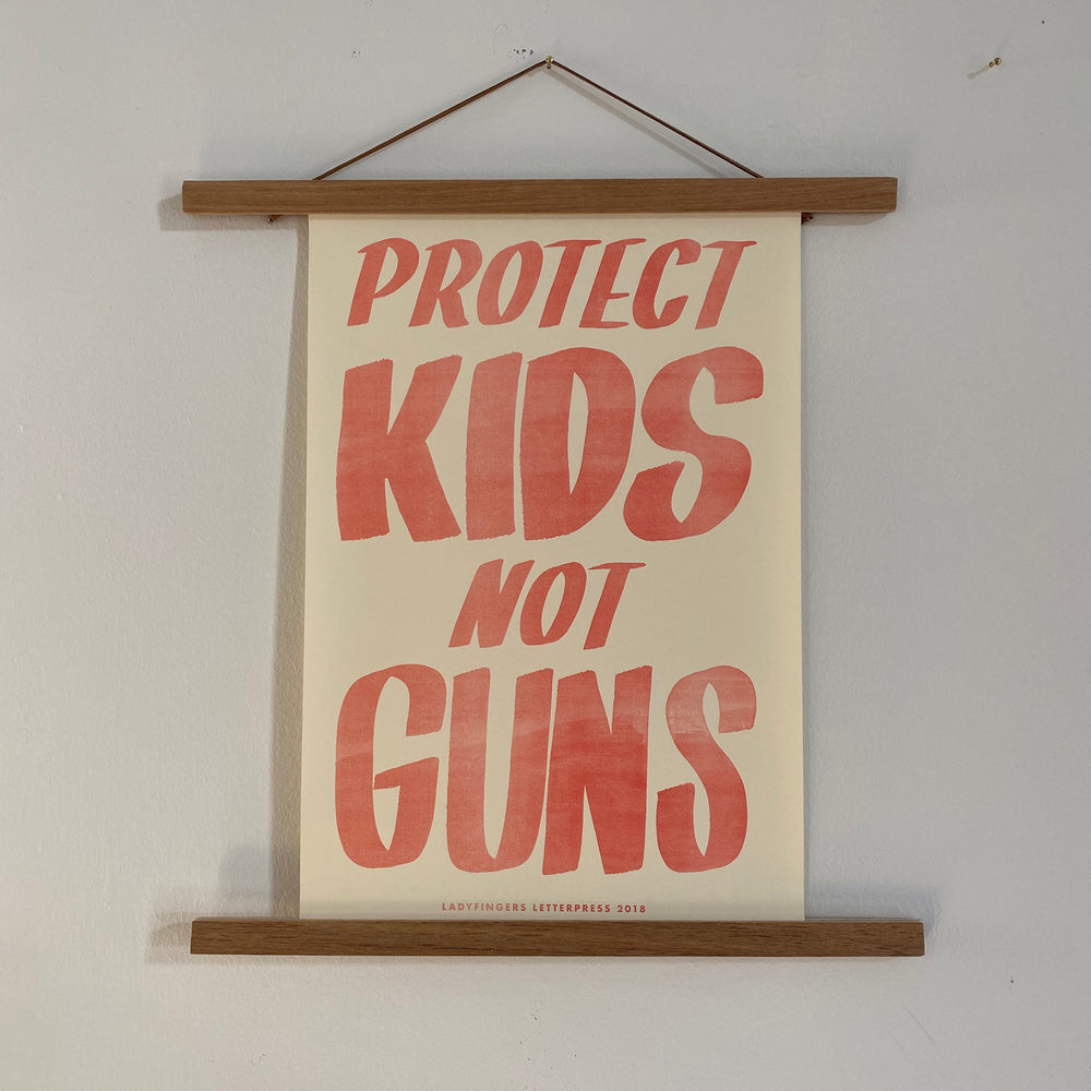 Protest Poster | Protect Kids Not Guns