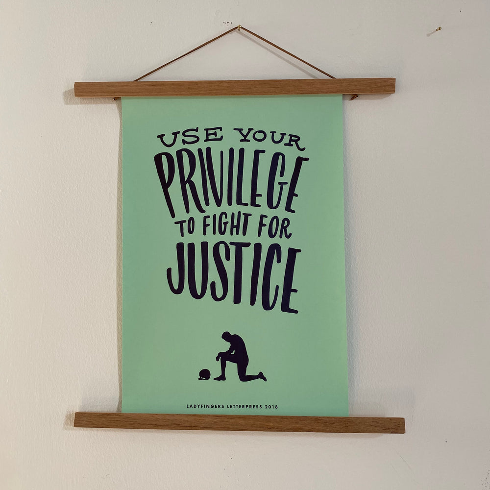 Protest Poster | Privilege for Justice