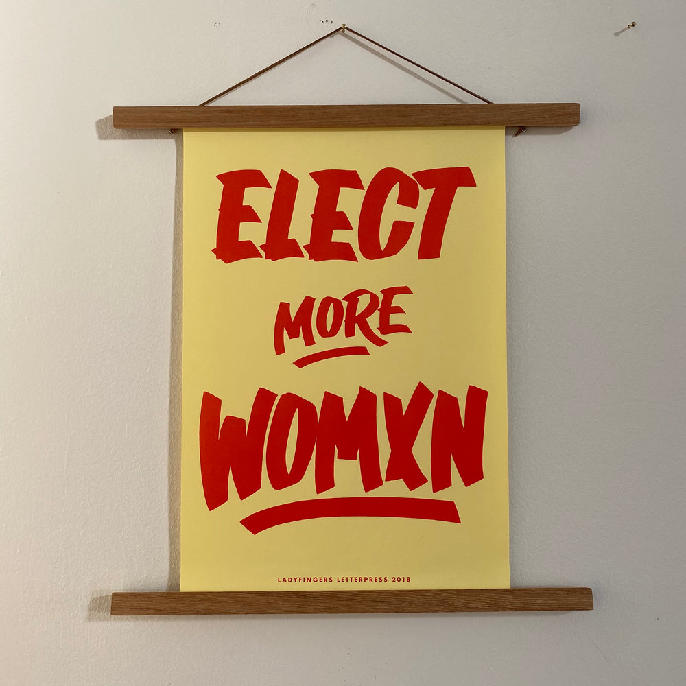 Protest Poster | Elect Women