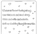 Activity Book | I Like Me and I Love Me