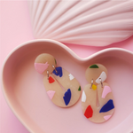 Earrings | Fruit Punch Terrazzo