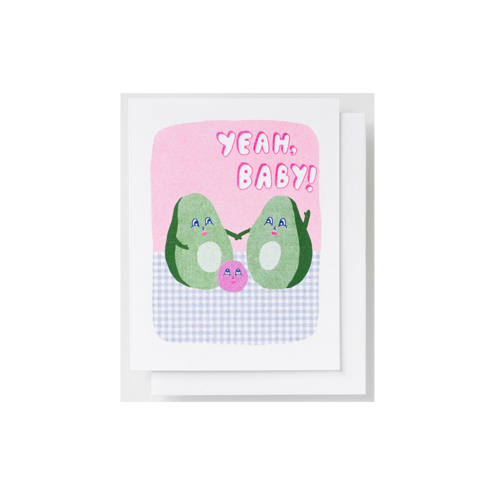 Baby Card | Avocado