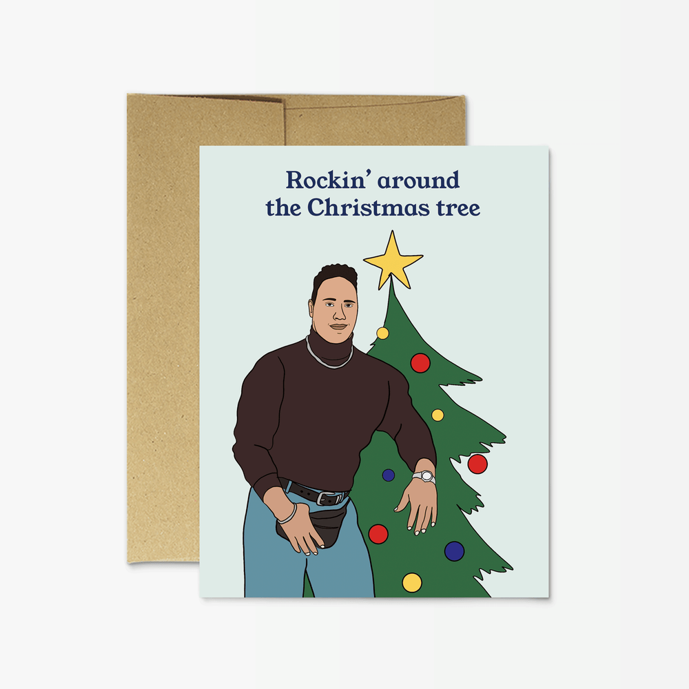 Holiday Card | Rockin' Christmas Card