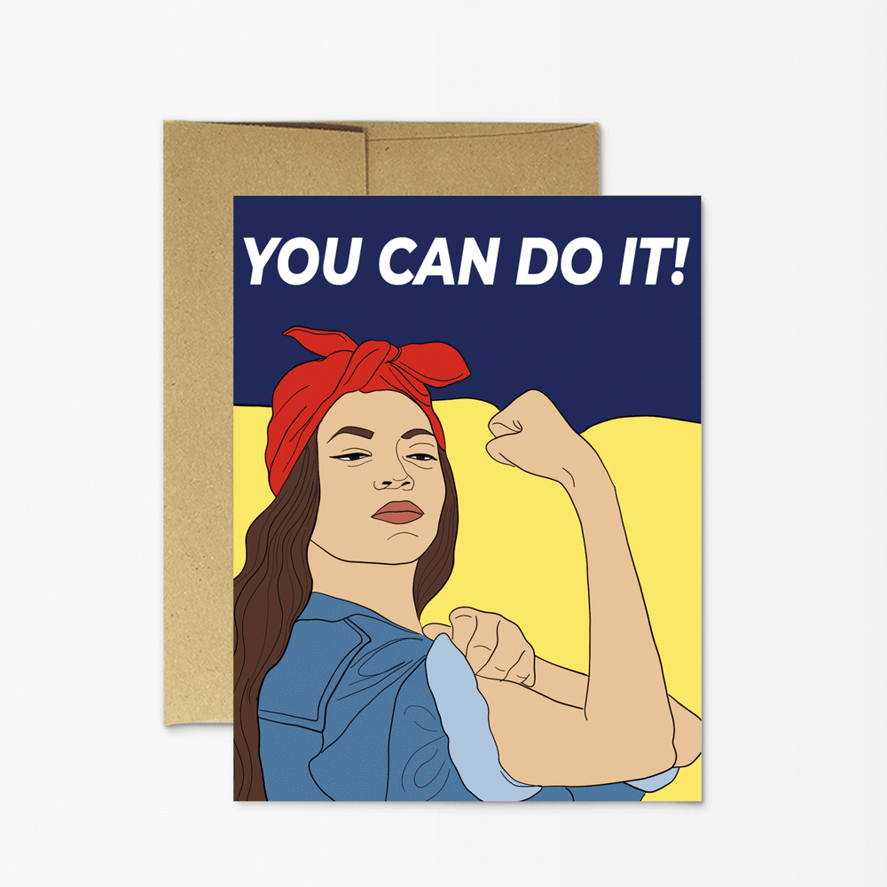 Friendship Card | You Can Do It