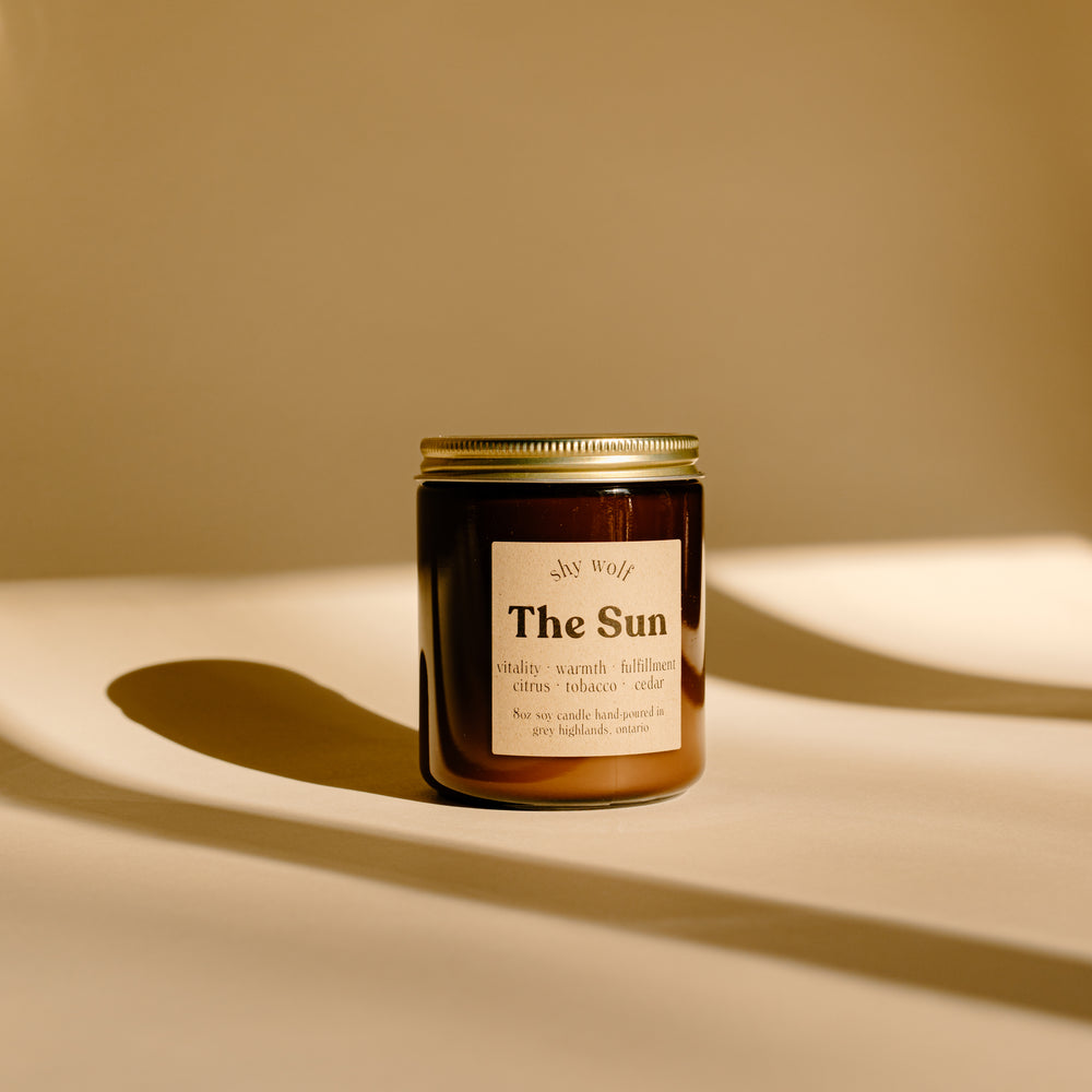 Soy Candle | The Sun
