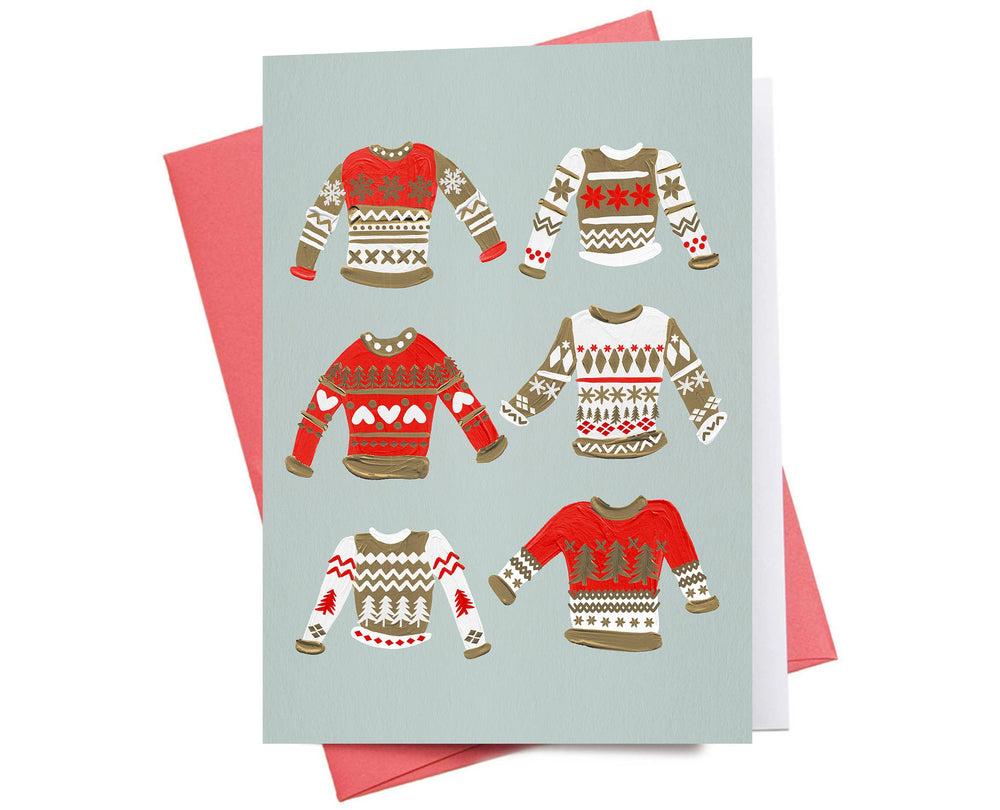 Holiday Card | Christmas Sweaters