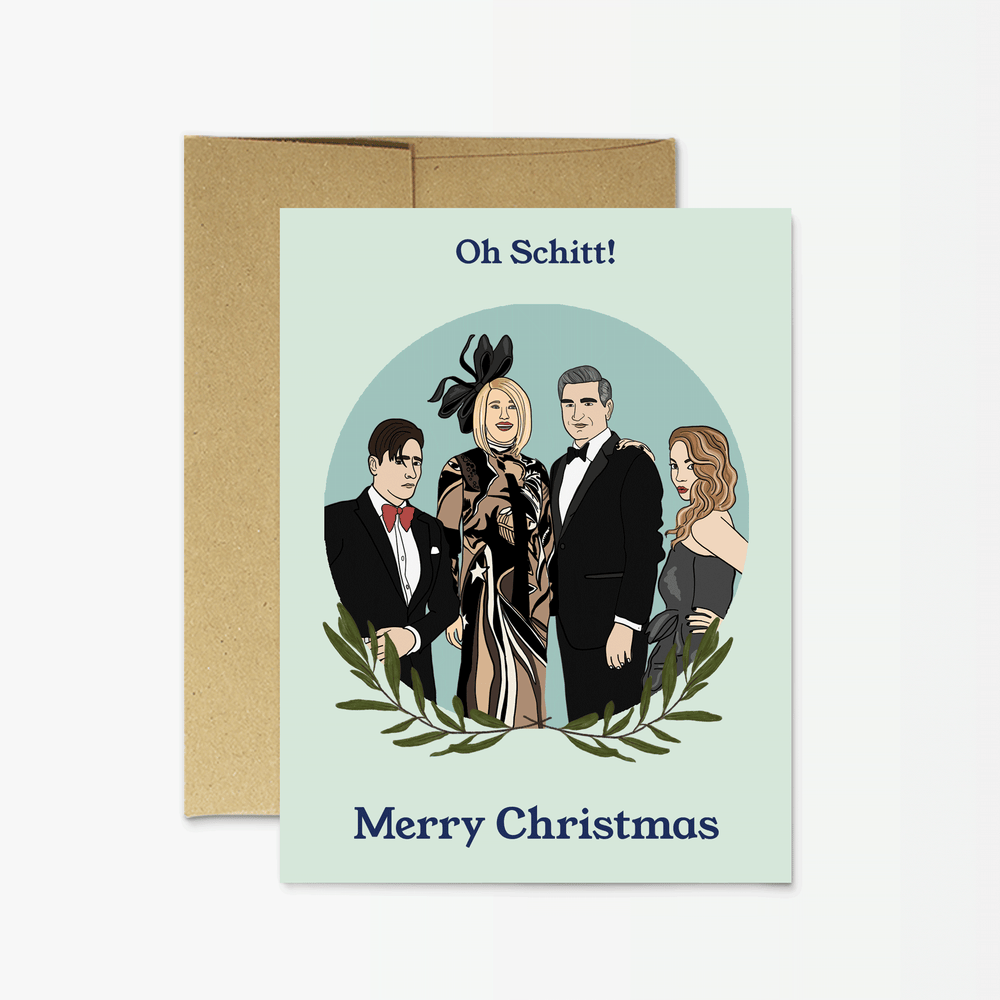 Holiday Card | Oh Schitt Christmas