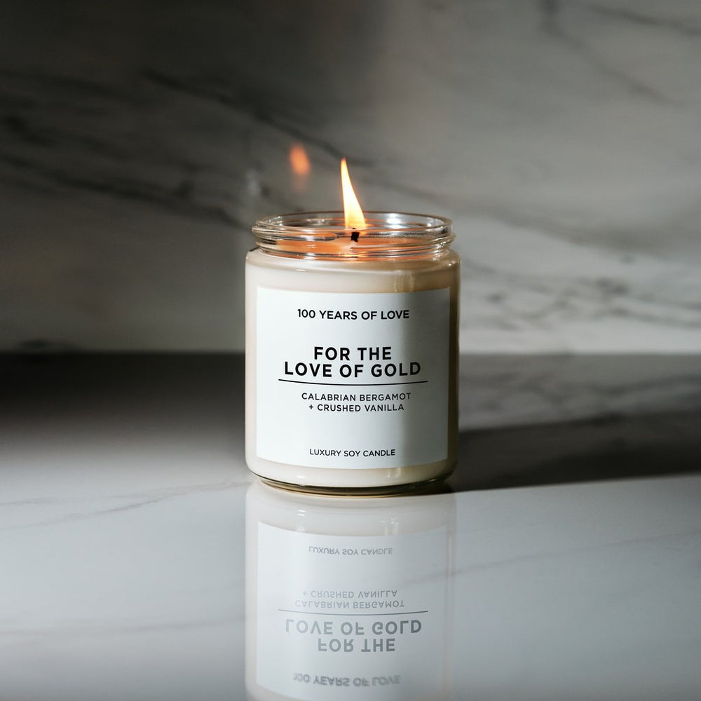 Soy Candle | For the Love of Gold
