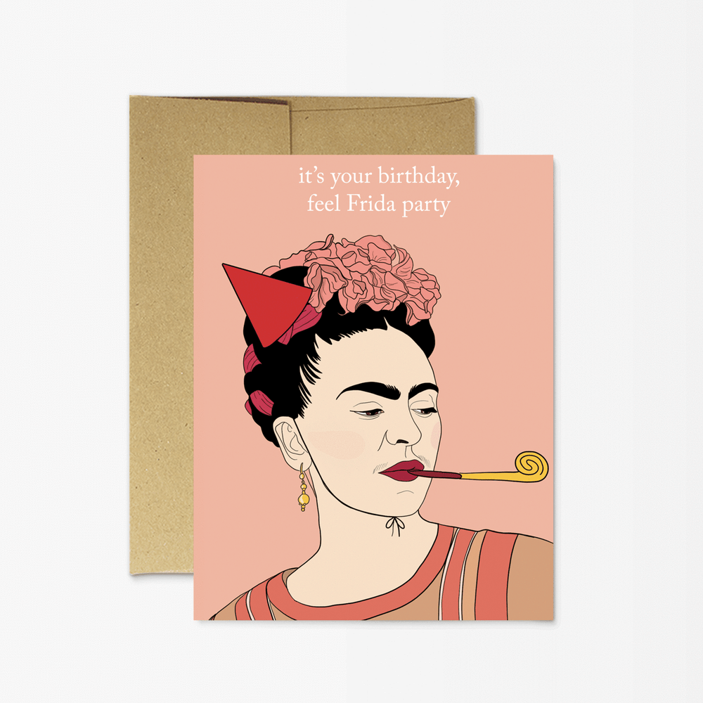 Birthday Card | Frida