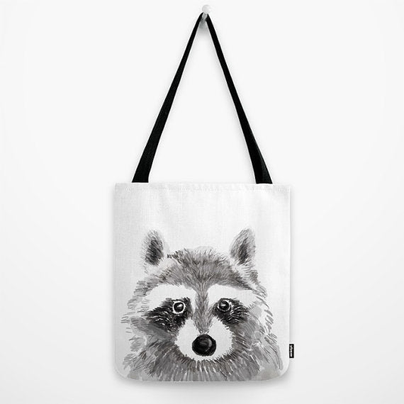 Tote Bag | Raccoon