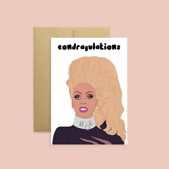 Congratulations Card | RuPaul